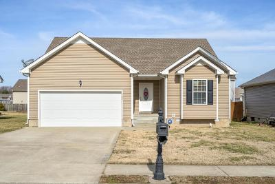 Clarksville Single Family Home For Sale: 503 Fox Trot Dr
