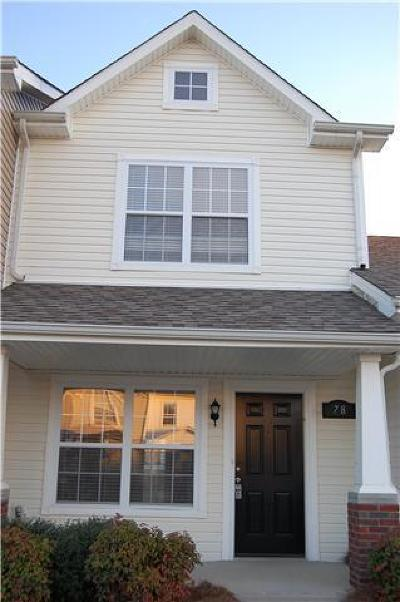 Clarksville TN Single Family Home For Sale: $119,950