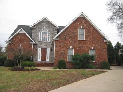 Murfreesboro Rental For Rent: 1711 Ironwood Court