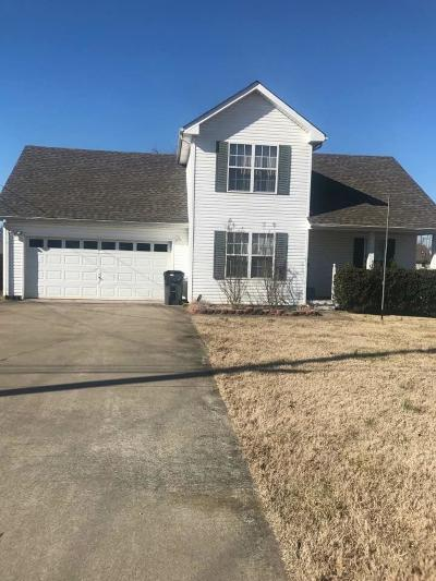 Clarksville Single Family Home For Sale: 3438 Kingfisher Dr