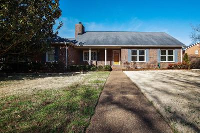 Franklin Single Family Home For Sale: 251 Pebble Glen Dr
