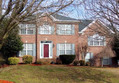 Sumner County Single Family Home For Sale: 124 Huntington Pl