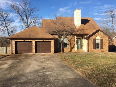 Clarksville Single Family Home For Sale: 1122 Rosebrook Dr