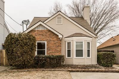 Nashville Single Family Home Under Contract - Showing: 2316 Benay Rd