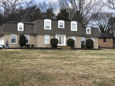 Lebanon Single Family Home For Sale: 1810 Indian Hills Rd