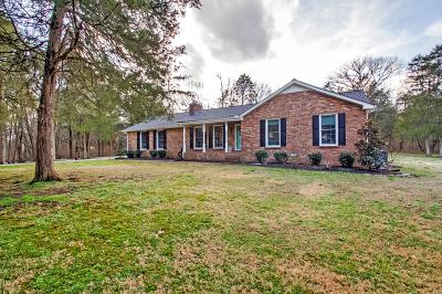 Franklin Single Family Home Under Contract - Showing: 3637 N Chapel Rd