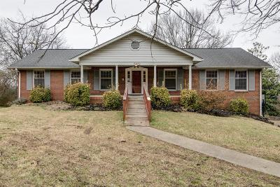 Nashville Single Family Home Under Contract - Showing: 6432 Fleetwood Dr