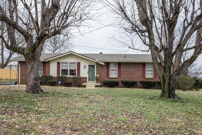 Sumner County Single Family Home For Sale: 109 Cheryl Dr