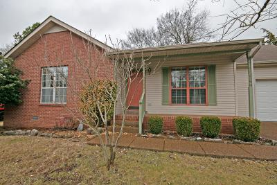 Nashville Single Family Home For Sale: 2729 Airwood Dr