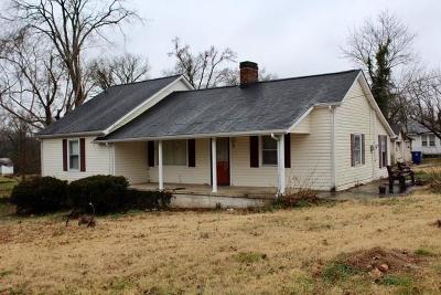 Shelbyville Single Family Home For Sale: 1100 S Cannon Blvd