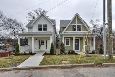 Nashville Single Family Home For Sale: 1242 A Thomas St