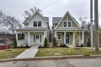 Nashville Single Family Home For Sale: 1242 B Thomas St
