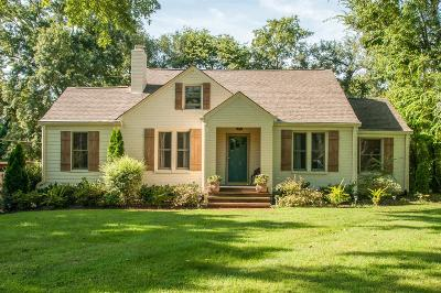 Nashville Single Family Home For Sale: 1039 Draughon Ave