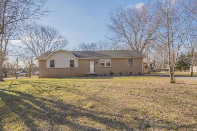 Smyrna Single Family Home For Sale: 601 Flintlock Dr