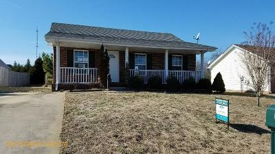 Christian County, Ky, Todd County, Ky, Montgomery County Single Family Home For Sale: 2809 Russet Ridge Dr