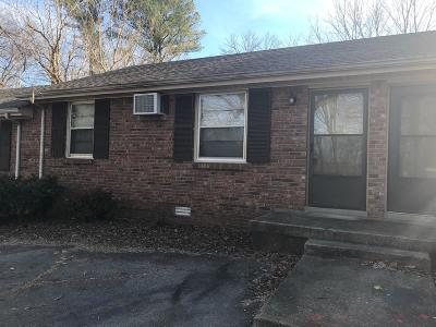 Christian County, Ky, Todd County, Ky, Montgomery County Rental For Rent: 79 W Fork Dr