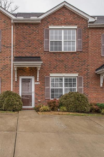 Spring Hill Condo/Townhouse For Sale: 4018 Clinton Ln