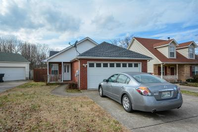 Murfreesboro TN Single Family Home For Sale: $164,900