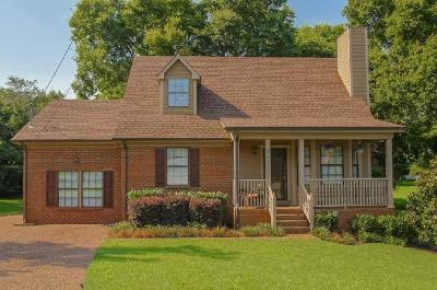 Sumner County Single Family Home For Sale: 107 Rebecca Ct