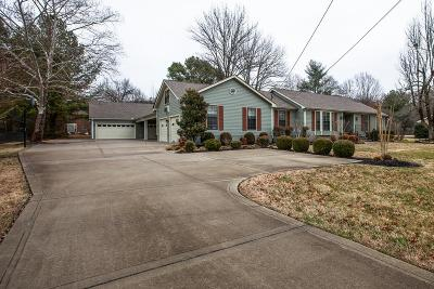 Franklin Single Family Home For Sale: 1016 Moran Rd
