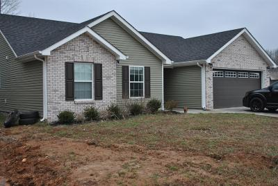 Christian County, Ky, Todd County, Ky, Montgomery County Single Family Home For Sale: 845 Shelton Cir