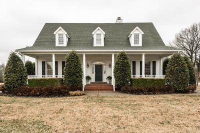 Gallatin Single Family Home Under Contract - Showing: 255 Lindsey Hollow Rd