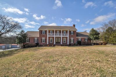 Single Family Home Under Contract - Showing: 2021 Rocky Springs Lane