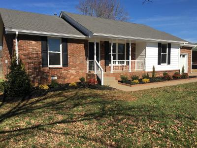 Smyrna, Lascassas Single Family Home Under Contract - Showing: 121 Lake Farm Rd