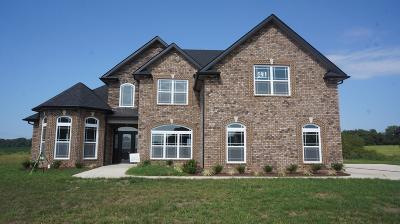 Clarksville Single Family Home Under Contract - Showing: 40 Hartley Hills