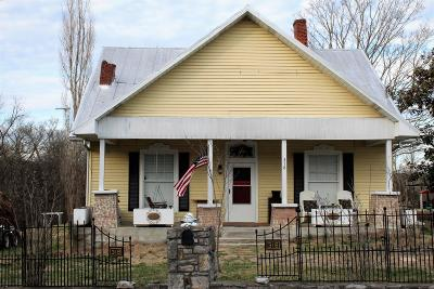 Alexandria Single Family Home Under Contract - Showing: 318 W Main St