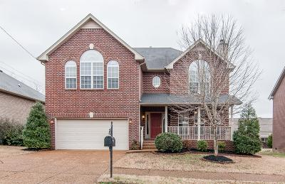 Davidson County Single Family Home Under Contract - Showing: 7344 Campton Rd