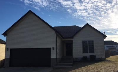 Clarksville Single Family Home For Sale: 1277 Morstead Dr