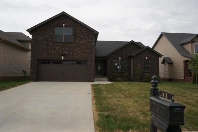 Clarksville Single Family Home For Sale: 1579 Cobra Ln