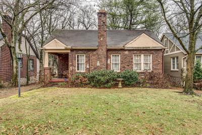 Single Family Home Under Contract - Showing: 2815 W Linden Ave