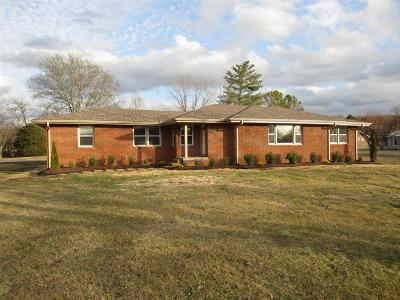 Wilson County Single Family Home For Sale: 3665 Hunters Point Pike