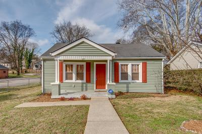 Davidson County Single Family Home For Sale: 1210 Montgomery Ave