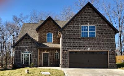 Clarksville TN Single Family Home For Sale: $252,950
