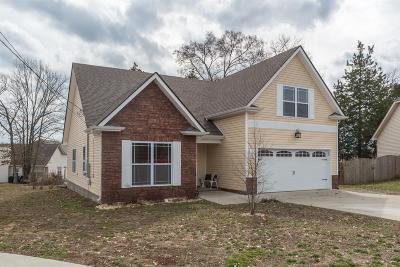 Smyrna Single Family Home For Sale: 107 Amos Springs Way