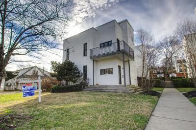 Nashville Condo/Townhouse For Sale: 2113 10th Ave S