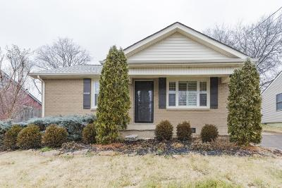 Davidson County Single Family Home For Sale: 1022 Wade Ave