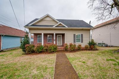 Davidson County Single Family Home For Sale: 1117 1st Ave S