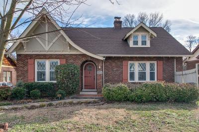Nashville Single Family Home For Sale: 2028 Greenwood Ave