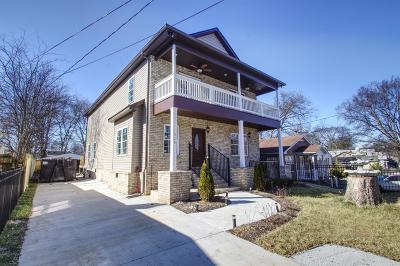Nashville Single Family Home For Sale: 1525 12th Ave N