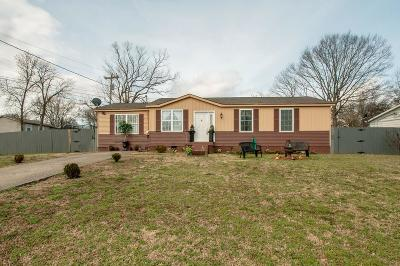 Davidson County Single Family Home For Sale: 1036 Mallow Dr