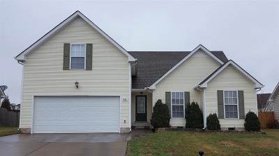 Clarksville Rental For Rent: 859 Cindy Jo Court