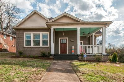 Nashville TN Single Family Home For Sale: $658,000