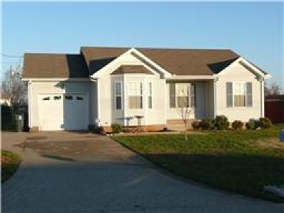 Clarksville Rental For Rent: 3433 Kingfisher