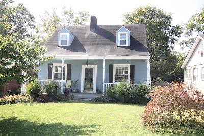 Nashville Single Family Home For Sale: 307 Radnor St