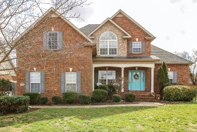 Murfreesboro Single Family Home For Sale: 312 Foundry Circle