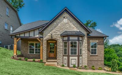 Nashville Single Family Home For Sale: 921 Holgate Court, Lot 39